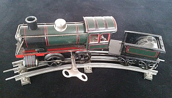 Carette (G.C.Cie) Uhrwerk B-Lok ca. 1920 (aus Bub Produktion)